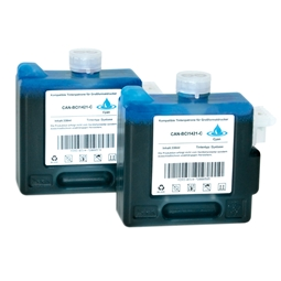 Logic-Seek 2 Tintenpatronen kompatibel zu Canon BCI-1421C 8368A001 XL Cyan
