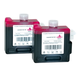 Logic-Seek 2 Tintenpatronen kompatibel zu Canon BCI-1421M 8369A001 XL Magenta