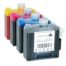 Logic-Seek 4 Tintenpatronen kompatibel zu Canon BCI-1421 XL