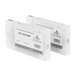 Logic-Seek 2 Tintenpatronen kompatibel zu Epson Pro 4900 T6538 C13T653800 XL Matt Schwarz