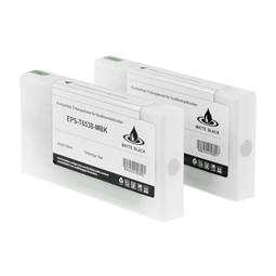 Logic-Seek 2 Tintenpatronen kompatibel zu Epson Pro 4900 T6539 C13T653900 XL Hell Hell Schwarz