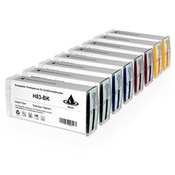 Logic-Seek 8 Tintenpatronen kompatibel zu HP 83 XL