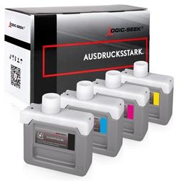 Logic-Seek 4 Tintenpatronen kompatibel zu Canon PFI-303 XL