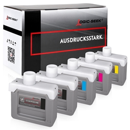 Logic-Seek 5 Tintenpatronen kompatibel zu Canon PFI-303 XL