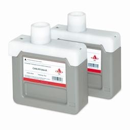 Logic-Seek 2 Tintenpatronen kompatibel zu Canon PFI-304R 3855B005 XL Rot