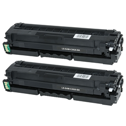 Logic-Seek 2 Toner kompatibel zu Samsung C2620 K505L CLT-K505L/ELS HC Schwarz