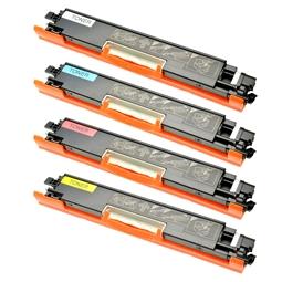 Logic-Seek 4 Toner kompatibel zu Canon Cartridge 729 HC