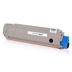 Logic-Seek  Toner kompatibel zu OKI C841 44844508 HC Schwarz