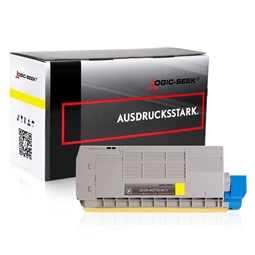 Logic-Seek  Toner kompatibel zu OKI MC770 XL 45396201 UHC Yellow