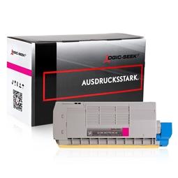 Logic-Seek  Toner kompatibel zu OKI MC770 XL 45396202 UHC Magenta