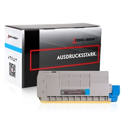 Logic-Seek  Toner kompatibel zu OKI MC770 XL 45396203 UHC Cyan