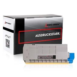 Logic-Seek  Toner kompatibel zu OKI MC770 XL 45396204 UHC Schwarz