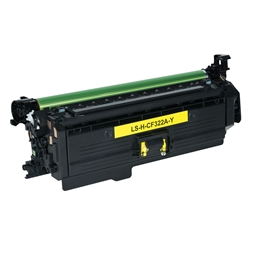 Logic-Seek  Toner kompatibel zu HP 653A CF322A HC Yellow