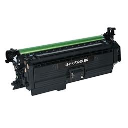 Logic-Seek  Toner kompatibel zu HP 653X CF320X UHC Schwarz
