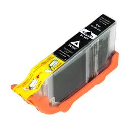 Logic-Seek  Tintenpatrone kompatibel zu Canon CLI-42BK 6384B001 XL Schwarz