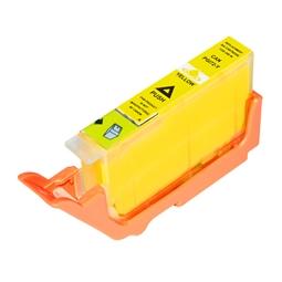 Logic-Seek  Tintenpatrone kompatibel zu Canon PGI-72Y 6406B001 XL Yellow