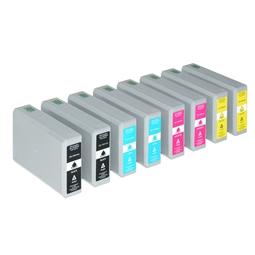 Logic-Seek 8 Tintenpatronen kompatibel zu Epson T7891-T7894 XL