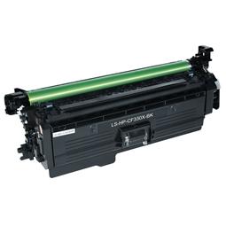 Logic-Seek  Toner kompatibel zu HP 654X CF330X HC Schwarz