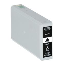 Logic-Seek  Tintenpatrone kompatibel zu Epson Stylus WF4630 79 C13T79114010 XL Schwarz