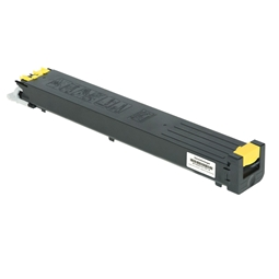 Logic-Seek  Toner kompatibel zu Sharp MX 2600 N MX-31GTYA HC Yellow
