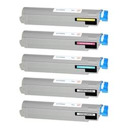 Logic-Seek 5 Toner kompatibel zu OKI C9655 HC