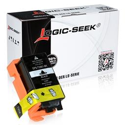 Logic-Seek  Tintenpatrone kompatibel zu Epson Stylus WF100 266 C13T26614010 XL Schwarz