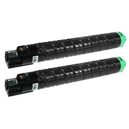 Logic-Seek 2 Toner kompatibel zu Ricoh Aficio SPC 830 821185 HC Schwarz