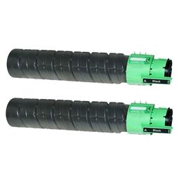 Logic-Seek 2 Toner kompatibel zu Ricoh Aficio SPC 410 TYPE245 888280 HC Schwarz