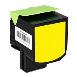 Logic-Seek  Toner kompatibel zu Lexmark CX510 800X4 80C0X40 HC Yellow