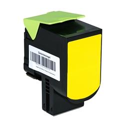 Logic-Seek  Toner kompatibel zu Lexmark CX410 800H4 80C0H40 HC Yellow