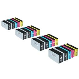 Logic-Seek 20 Tintenpatronen kompatibel zu Canon PGI-2500XL XL
