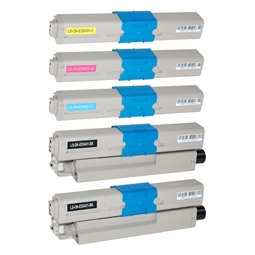 Logic-Seek 5 Toner kompatibel zu OKI ES5431 HC