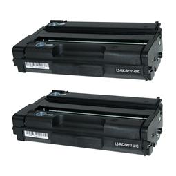 Logic-Seek 2 Toner kompatibel zu Ricoh Aficio SP 311 XL TYPESP311HE 407246 UHC Schwarz