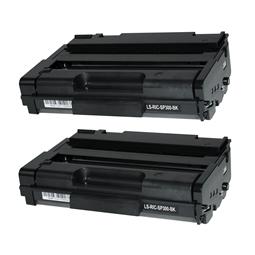 Logic-Seek 2 Toner kompatibel zu Ricoh Aficio SP 300 406956 HC Schwarz