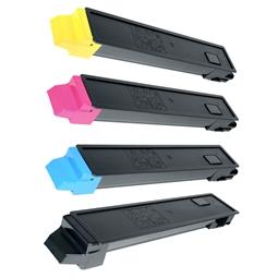 Logic-Seek 4 Toner kompatibel zu Kyocera TK-8315 HC