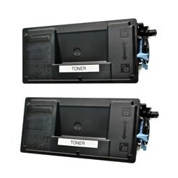 Logic-Seek 2 Toner kompatibel zu Kyocera TK-3100 1T02MS0NL0 HC Schwarz
