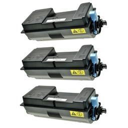 Logic-Seek 3 Toner kompatibel zu Kyocera TK-3130 1T02LV0NL0 HC Schwarz