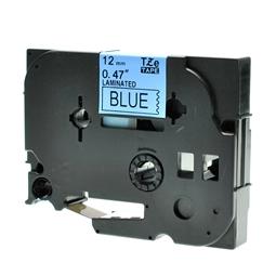Logic-Seek 1x Schriftband kompatibel zu Brother TZE-531, Schwarz auf Blau, 12mm x 8m