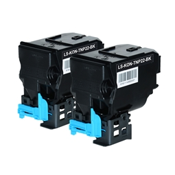 Logic-Seek 2 Toner kompatibel zu Konica Bizhub TNP-22K A0X5152 HC Schwarz