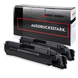 Logic-Seek 2 Toner kompatibel zu Kyocera TK-5135K 1T02PA0NL0 HC Schwarz