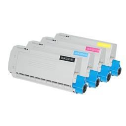 Logic-Seek 4 Toner kompatibel zu OKI ES7411 HC