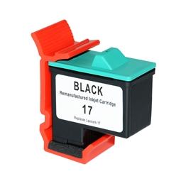 Logic-Seek  Tintenpatrone kompatibel zu Lexmark 17 10N0217E XL Schwarz