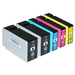 Logic-Seek 5 Tintenpatronen kompatibel zu Canon PGI-1500XL XL