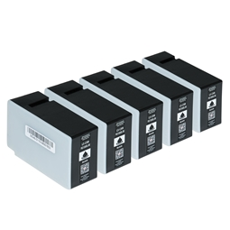 Logic-Seek 5 Tintenpatronen kompatibel zu Canon PGI-1500XLBK 9182B001 XL Schwarz