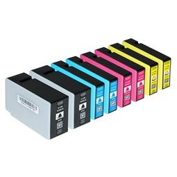 Logic-Seek 8 Tintenpatronen kompatibel zu Canon PGI-1500XL XL
