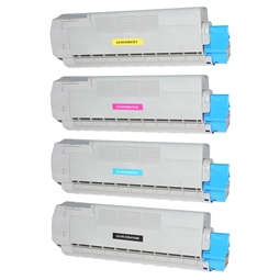 Logic-Seek 4 Toner kompatibel zu OKI ES6410 HC