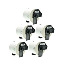 Logic-Seek 5x Etiketten kompatibel zu Brother DK-11202, 62mm x 100mm
