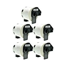 Logic-Seek 5x Etiketten kompatibel zu Brother DK-11209, 29mm x 62mm