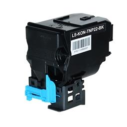 Logic-Seek  Toner kompatibel zu Konica Bizhub TNP-22C A0X5452 HC Cyan