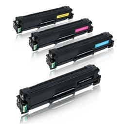 Logic-Seek 4 Toner kompatibel zu Samsung CLP-415 HC